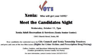 Bob Glaser -- Greene County Commissioner @ Xenia Community Center | Xenia | Ohio | United States